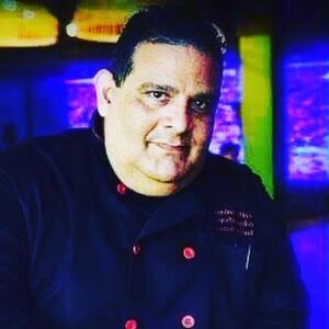 Cuban Iron Chef Serafin Sarduy